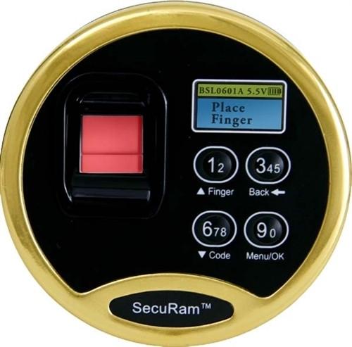 SecuRam Biometric Lock-Factory Installed Upgrade