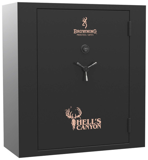 Browning Hells Canyon Extra Wide Series Gun Safe-gloss black