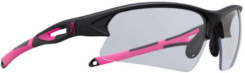 Browning On Point Shooting Glasses-Pink