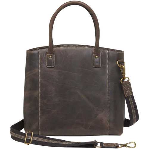 Gun Tote'n Mamas Distressed Buffalo Leather Town Tote