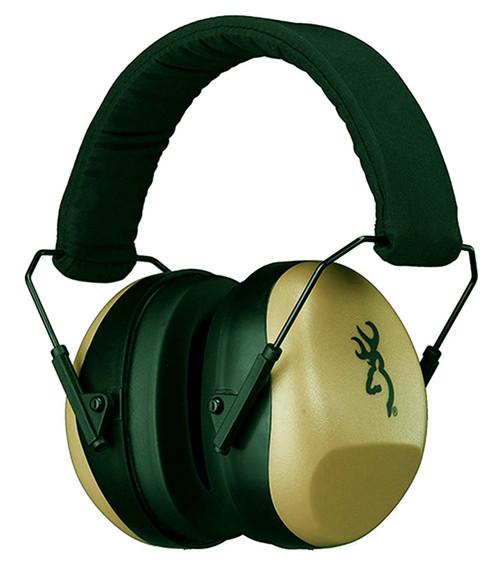Browning Buckmark Hearing Protectors-Sand