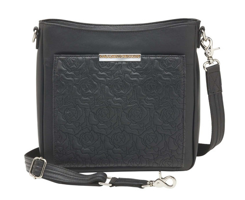 Gun Tote'n Mamas Slim/Crossbody Lambskin Concealed Carry Bag