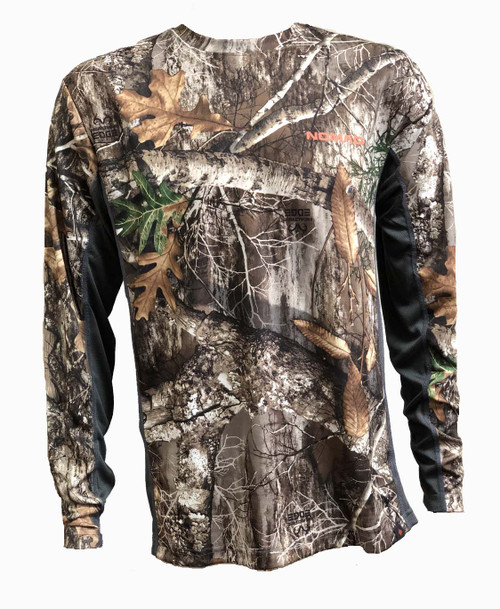 Nomad Icon Long Sleeve T-Shirt-Realtree Edge