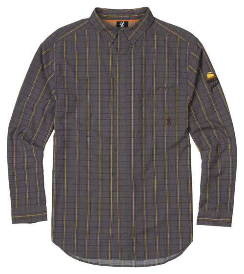 Browning Lightweight Hunting Shirt-Plaid