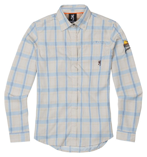 Browning Women's Upland Lightweight Shirt-Plaid