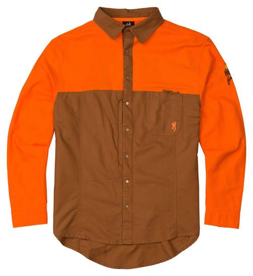 Browning Midweight Hunting Shirt-Blaze