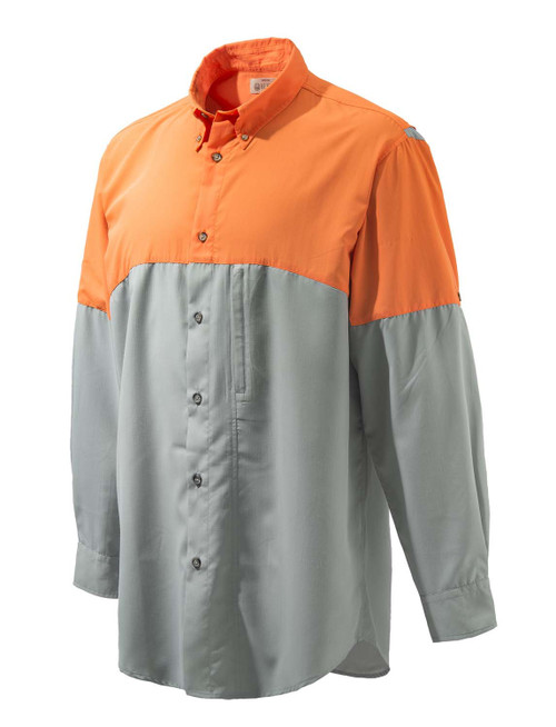 Beretta TM Tech Shirt-Gray-Blaze