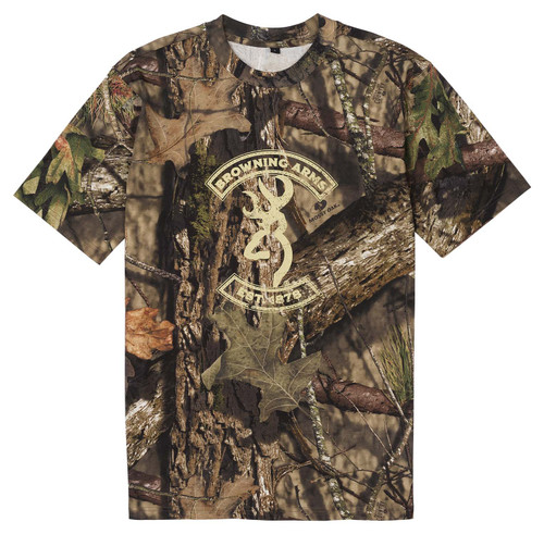 Browning Buckmark T-shirt camo graphique