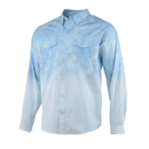 Huk Current Long Sleeve Shirt-Propwash