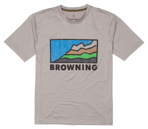 Browning Sun Shirt Shirt - серый