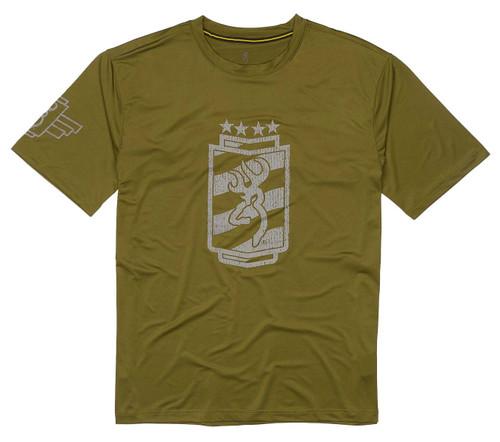 Browning Chemise de soleil à manches courtes-Vert
