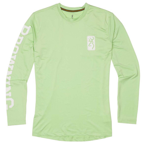 Browning Women's Long Sleeve Sun Shirt-Neomint