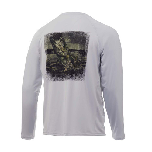 Huk Pursuit Bass Camp Long Sleeve Tee