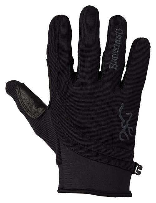 Browning Ace Shooting Gloves-Black/Black