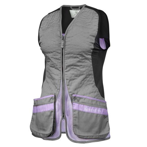 Beretta Women's Silver Pigeon Evo Vest-Gray/Lavender