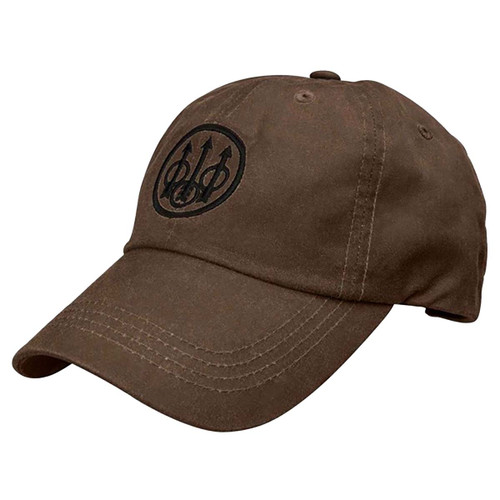 Beretta Waxed Cotton Cap-Brown