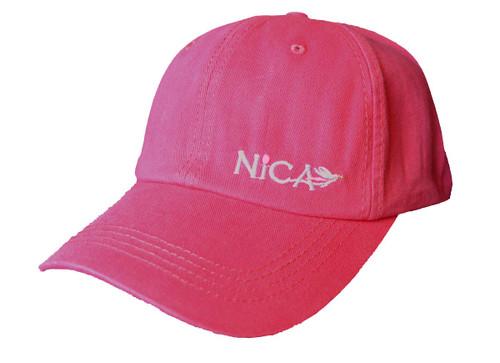 Небольшой логотип Nica, вид спереди