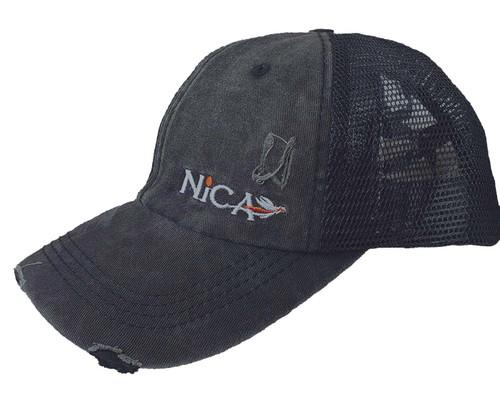 Nica CrissCross Rustic Ponytail Hat