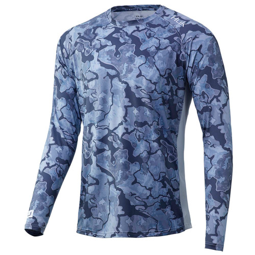 Huk LoPro Camo Long Sleeve T-Shirt-Erie