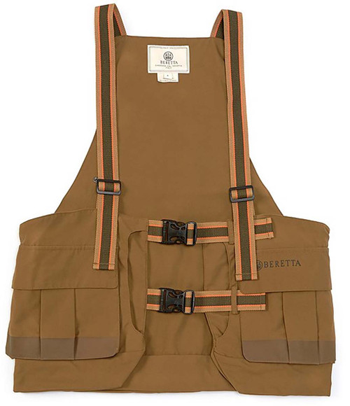 Beretta Covey Strap Vest-Hunting Brown
