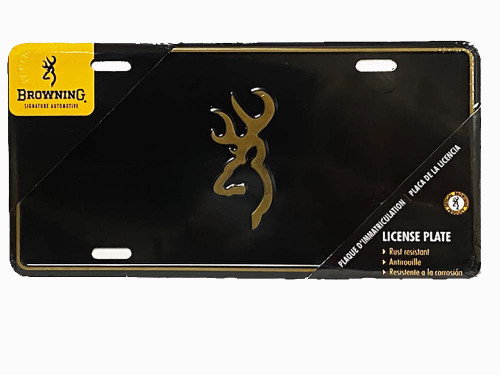 Browning License Plate