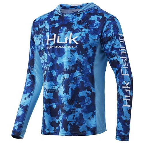 Huk Icon X KC Refraction Camo Hoodie-San Sal