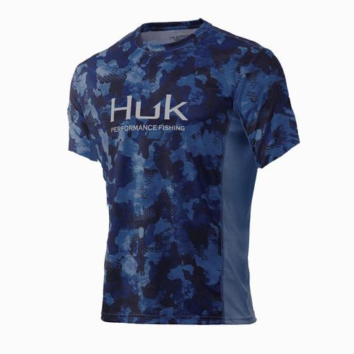Huk Icon X KC Refraction Camo Short Sleeve Tee-San Sal