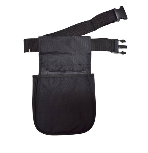 Bob Allen Team Series Divided Shell Pouch With Belt-Black