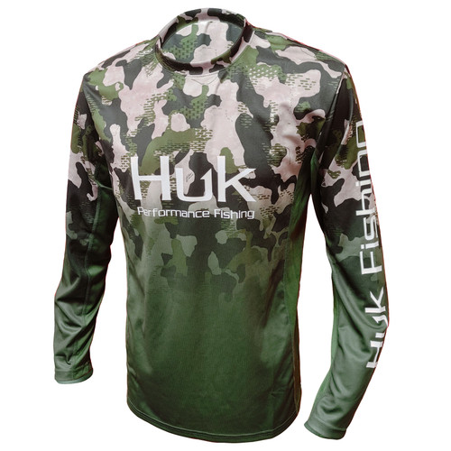 Huk Icon X KC Refraction Camo Fade-Hunt Club Camo-front
