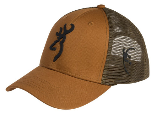 BROWNING TRADITION MESH BACK CAP- FRONT