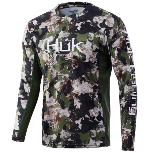 HUK ICON X KC REFRACTION CAMO- HUNT CLUB CAMO- Front