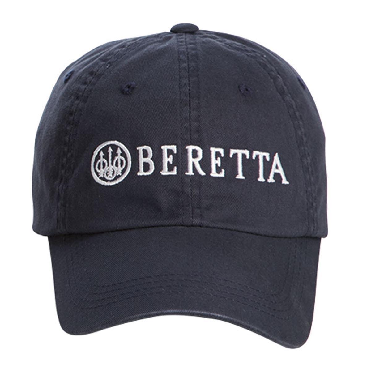 e7568642ed1 Beretta Cotton Twill Cap-Navy