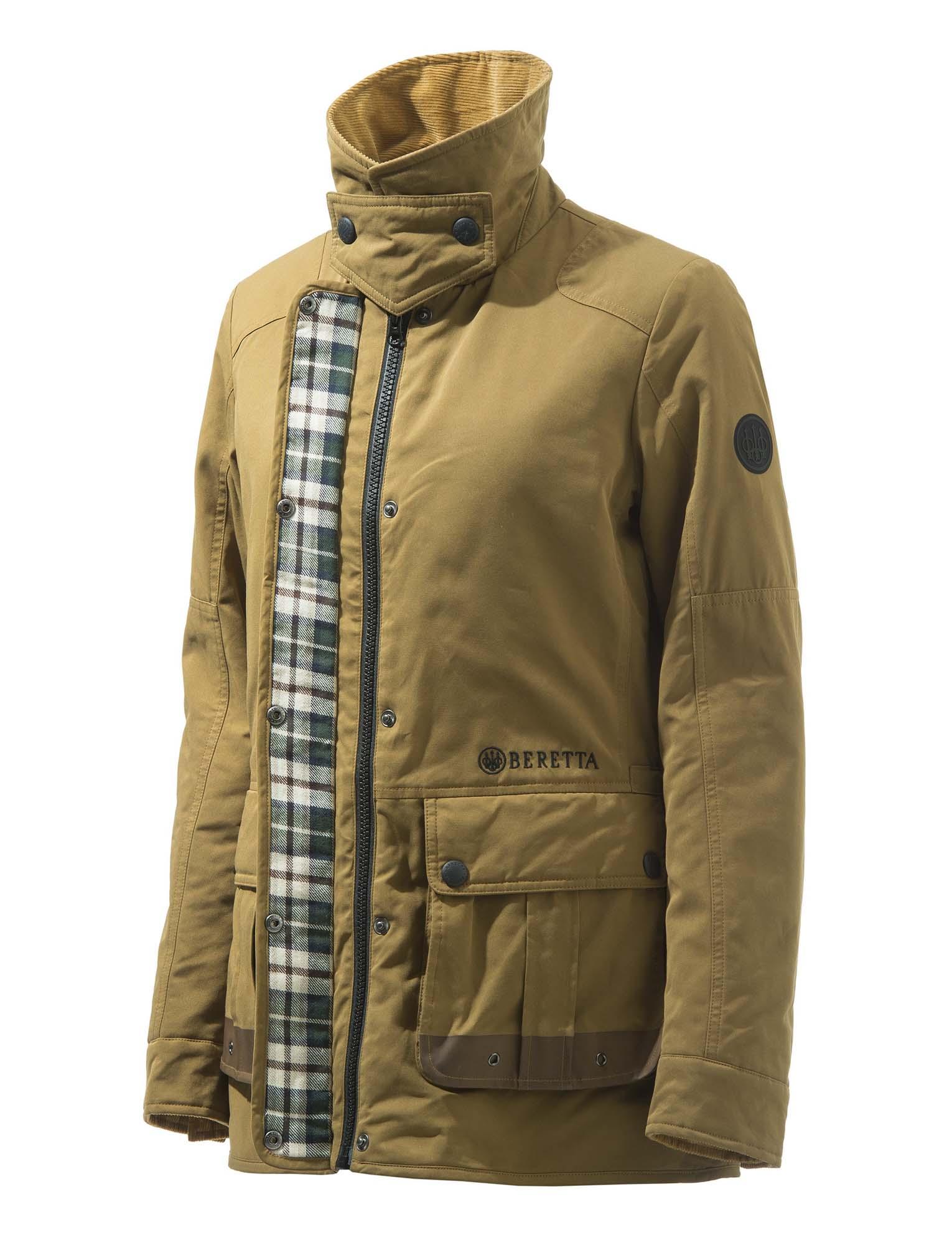 Beretta Women's Daybreak Field Jacket-zipper