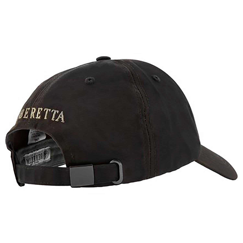 Beretta Waxed Cotton Cap-Olive Green-back