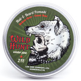 Lox Wild Hunt All Natural Pomade Hair Beard Viking Peppermint Winter Pine