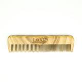 Lox Peach Wood Long Beard Comb
