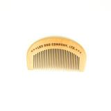 Lox Peach Wood Pocket Comb
