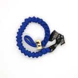 Lox Hands to War Bracelet Blue
