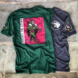 Lox Wild Hunter Tee Green Grey