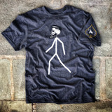 Lox Stickman Tee Front