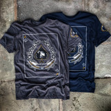 Lox Ace of Spades Tee Blue Black