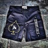 Lox and company loxman board shorts boxing lifting swimming workout apparel