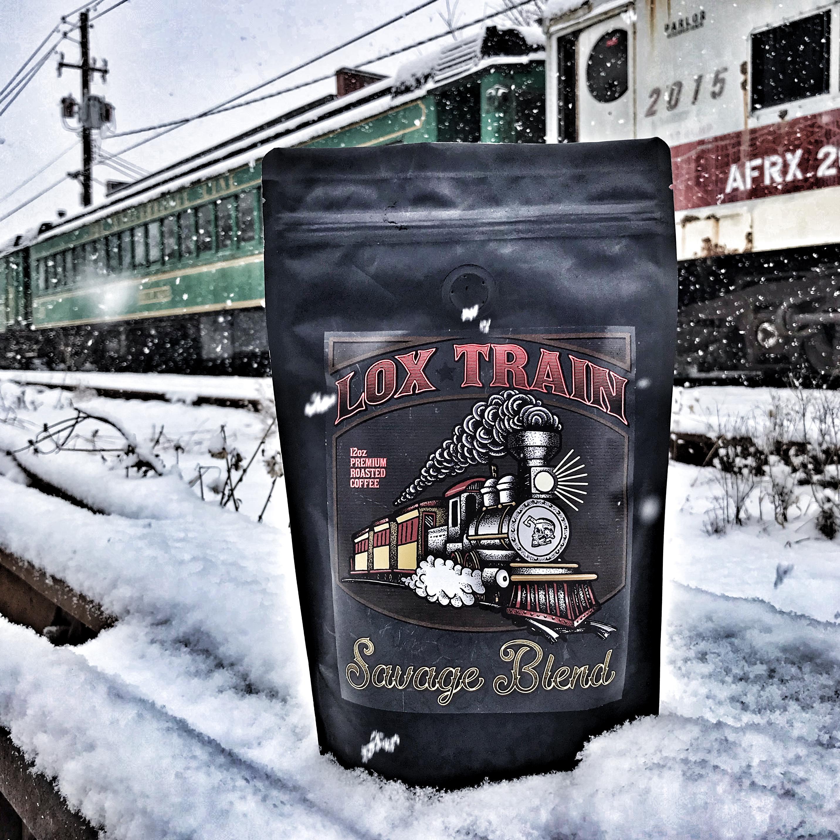 Lox Train Coffee Savage Blend