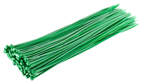 Green Heavy Duty Cable Ties (Pack of 100)