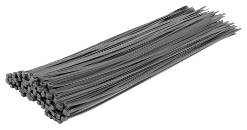 Silver / Grey Heavy Duty Cable Ties (Pack of 100)