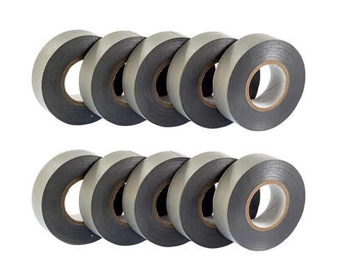 Grey PVC Electrical Insulation Tape (Pack of 10)