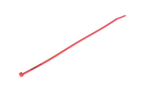 Fluorescent Pink Printed Cable Ties (Pack of 100)