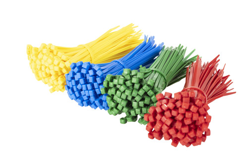 200 Multi Pack of Coloured Cable Ties 300mm x 4.8mm