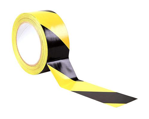 Black / Yellow Adhesive Hazard Warning Floor Tape
