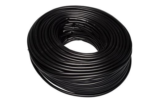 Black Flexible PVC Cable Sleeving